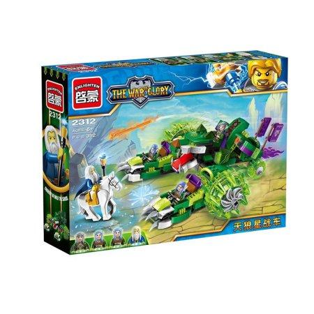 Enlighten Brick Stavebnice - Vůz Elfů - 392 dílů