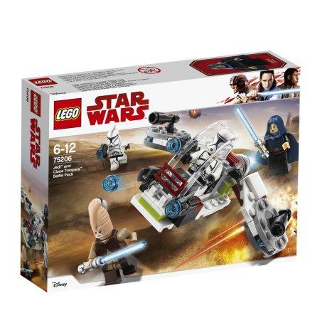 LEGO Star Wars 75206 - Bitevní balíček Jediů a klonových vojáků
