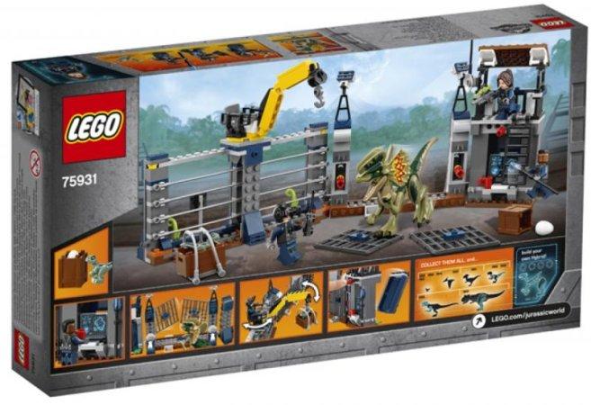 LEGO Jurassic World 75931 - Dilophosaurus Outpost Attack