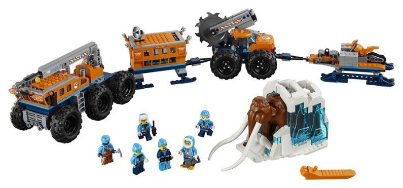 LEGO City 60195 - Mobilní polární stanice
