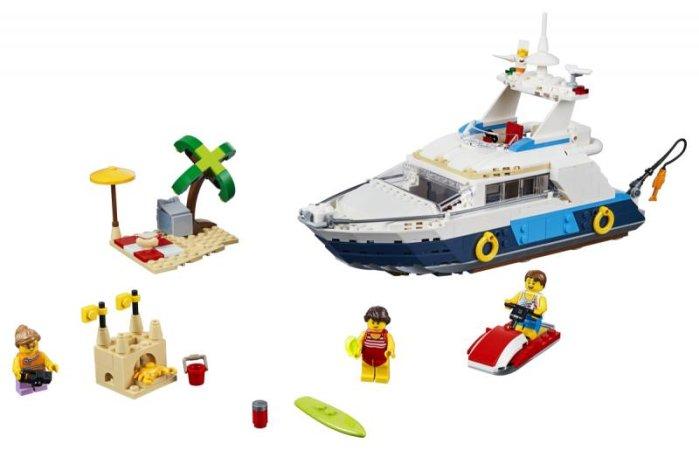LEGO Creator 31083 - Dobrodružná plavba 3v1