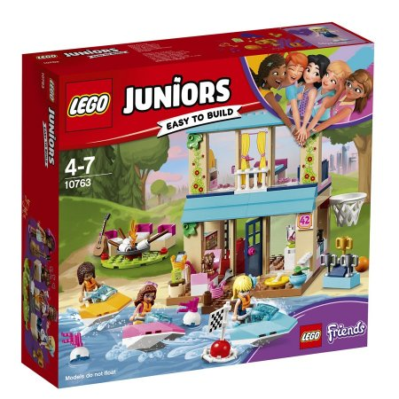 LEGO Juniors 10763 - Stephanie a její dům u jezera - Výprodej
