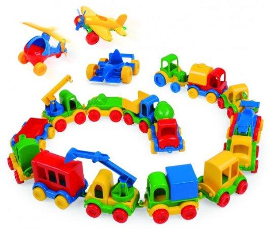WADER Auto Kid Cars mini - 10 cm