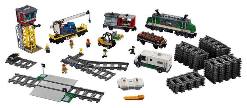LEGO City 60198 - Nákladní vlak