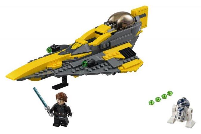 LEGO Star Wars 75214 - Anakinův jediský Starfighter