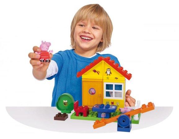 Big PlayBig Bloxx - Peppa Pig - Zahradní domek