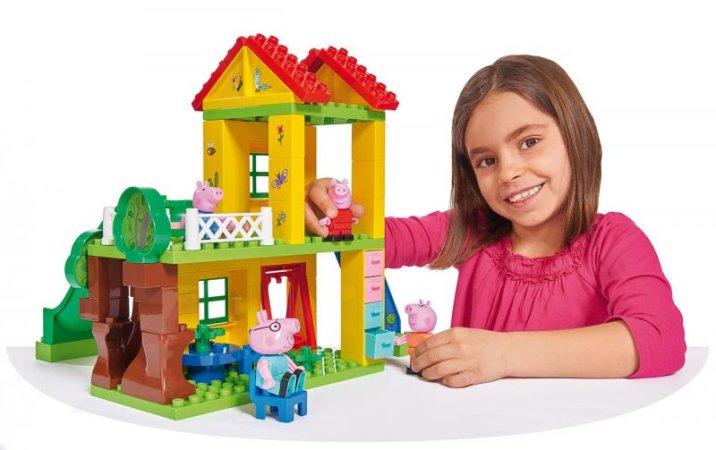 Big PlayBig Bloxx - Peppa Pig - Domeček na hraní