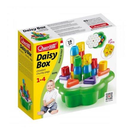 Quercetti Daisy Box Chiodoni - 28 ks