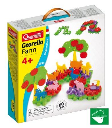 Quercetti Georello Farm - 60 dílků