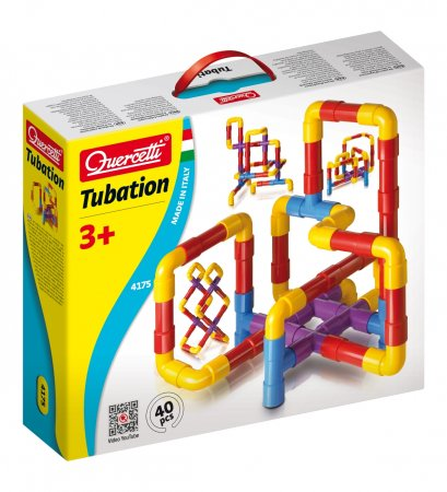 Quercetti Tubation - 40 dílků