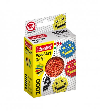 Quercetti Pixel Photo Art 1000 - červená