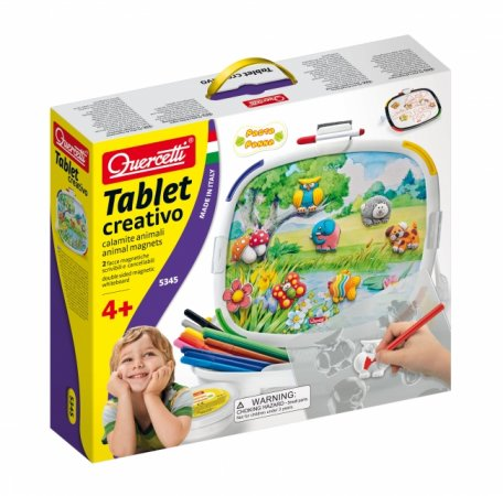 Quercetti Tablet creativo animal magnets