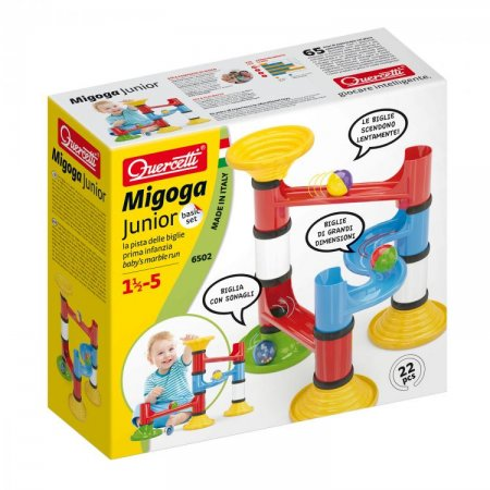 Quercetti Migoga Junior Basic - 22 dílků