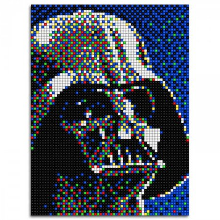 Quercetti Pixel Art 4 Star Wars - Darth Vader