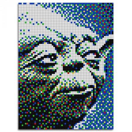 Quercetti Pixel Art 4 Star Wars - Yoda