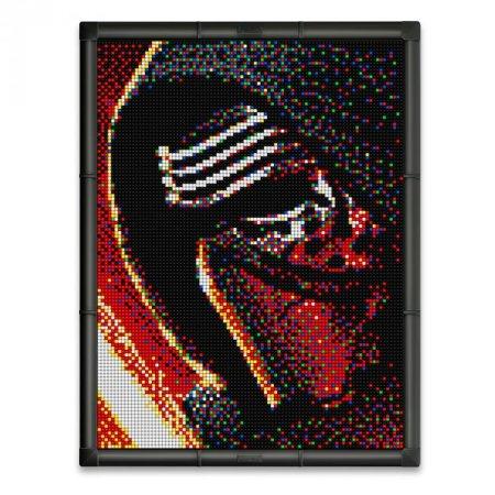 Quercetti Pixel Art 9 Star Wars - Kylo Ren