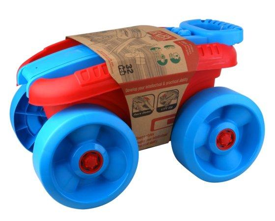 Alltoys CZ Vozík s kostkami velký - 32 ks