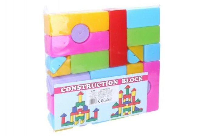 Wiky Kostky stavebnice - 24 ks v sáčku