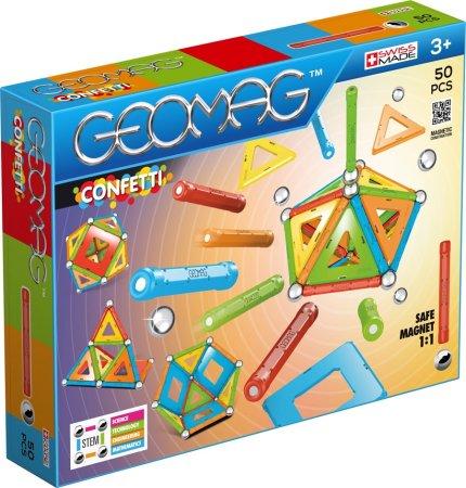 Geomag Stavebnice Confetti 50 pcs - poslední kus