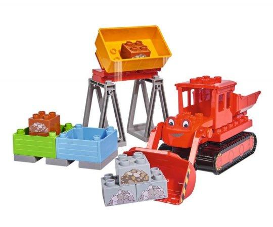 Big PlayBig Bloxx - Bořek - Max červený buldozer