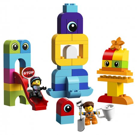 LEGO Duplo 10895 - Emmet, Lucy a návštěvníci z Duplo planety