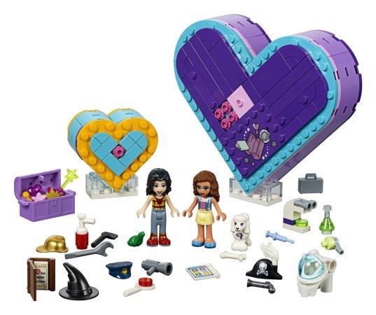 LEGO Friends 41359 - Balíček srdíčkových krabiček přátelství