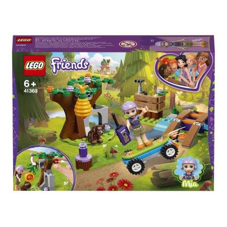 LEGO Friends 41363 - Mia a dobrodružství v lese