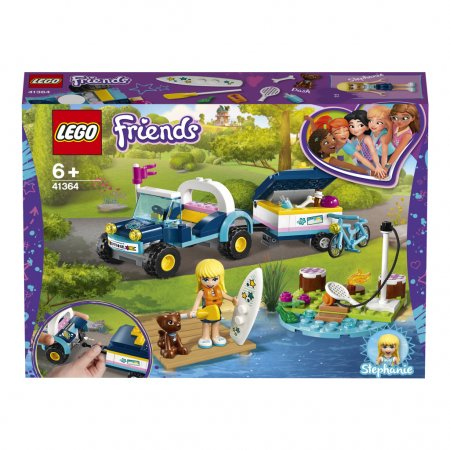 LEGO Friends 41364 - Stephanie a bugina s přívěsem