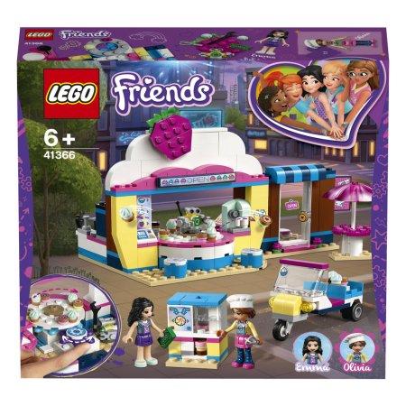 LEGO Friends 41366 - Olivia a kavárna s dortíky