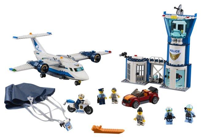 LEGO City 60210 - Základna Letecké policie