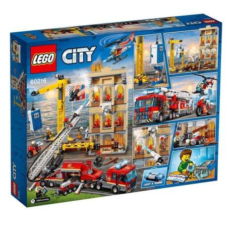 LEGO City 60216 - Hasiči v centru města