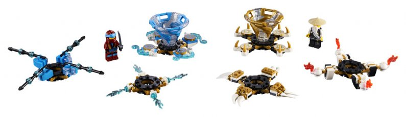 LEGO Ninjago 70663 - Spinjitzu Nya a Wu