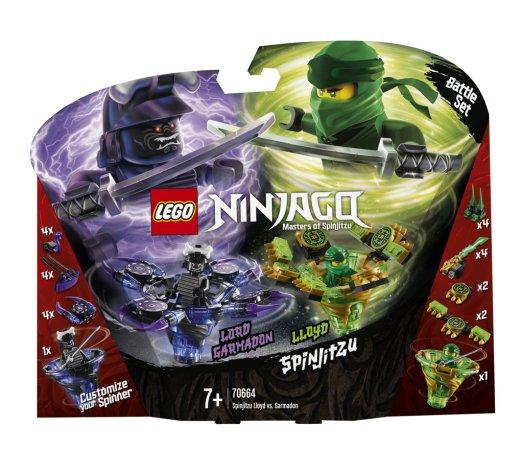 LEGO Ninjago 70664 - Spinjitzu Lloyd vs. Garmadon