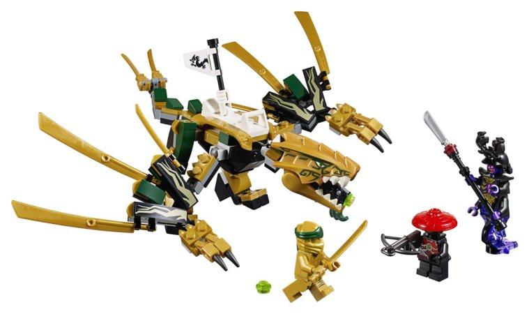 LEGO Ninjago 70666 - Zlatý drak