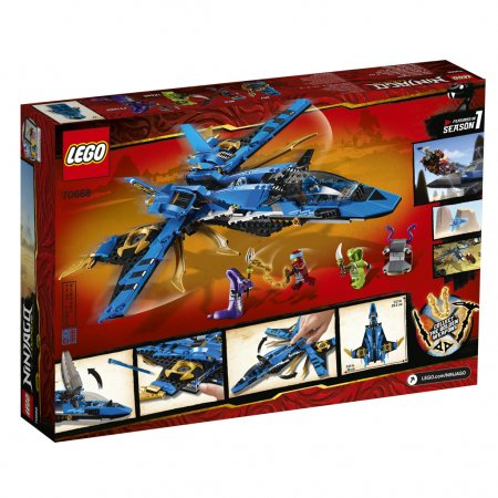 LEGO Ninjago 70668 - Jayův bouřkový štít