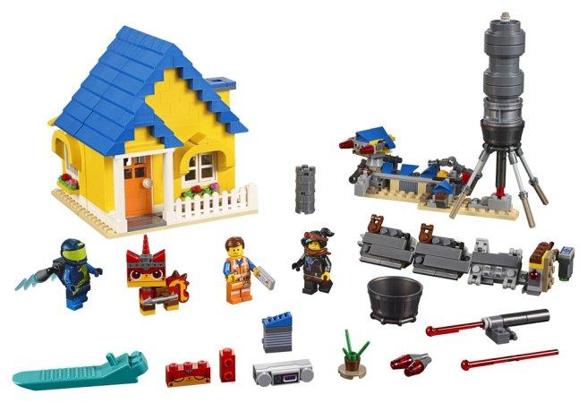 LEGO Movie 70831 - Emmetův vysněný dům/Záchranná raketa! 2v1
