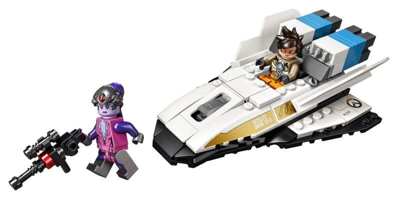 LEGO Overwatch 75970 - Tracer vs. Widowmaker