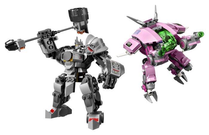LEGO Overwatch 75973 - D.Va a Reinhardt