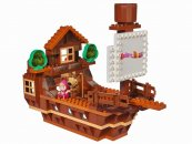Big PlayBig Bloxx Máša a medvěd - Míšova loď