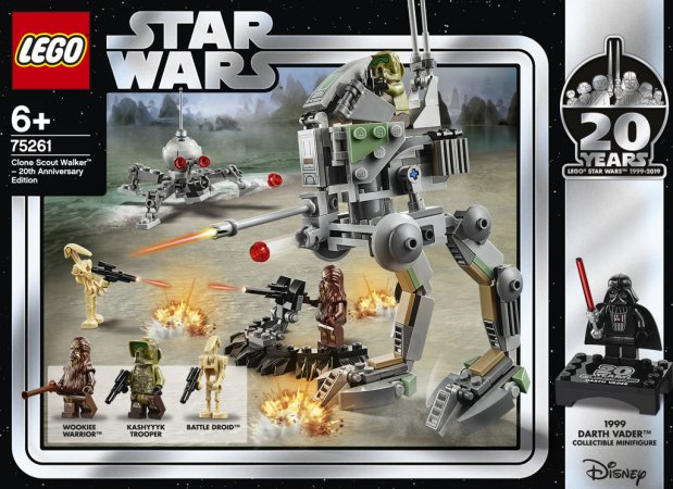 LEGO Star Wars 75261 - Klonový průzkumný chodec – edice k 20. výročí