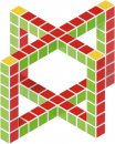 Geomag Stavebnice Geomag - Magicube Free building - 64 pcs