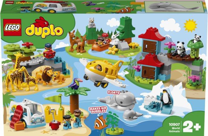 LEGO Duplo 10907 - Zvířata světa