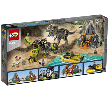 LEGO Jurassic World 75938 - T. Rex vs. Dinorobot