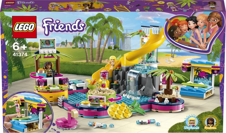LEGO Friends 41374 - Andrea a party u bazénu