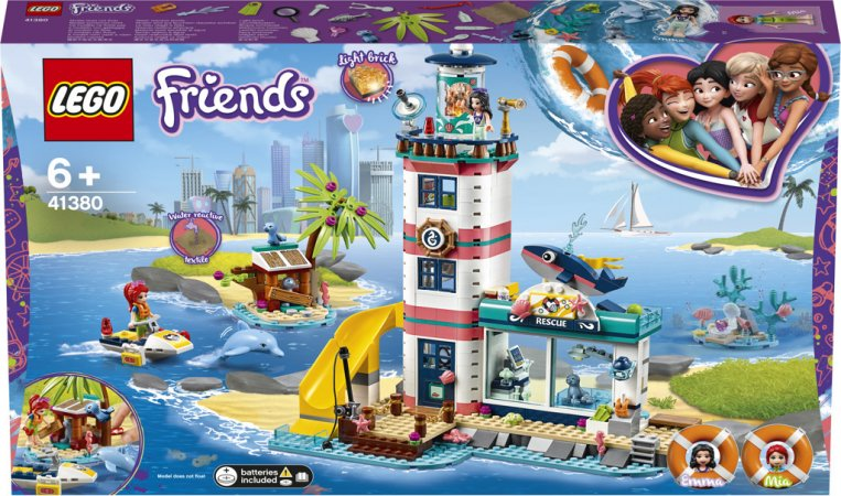 LEGO Friends 41380 - Záchranné centrum u majáku