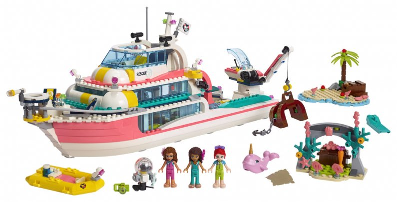 LEGO Friends 41381 - Záchranný člun