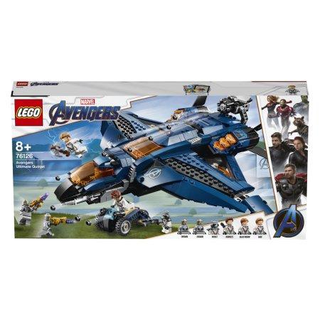 LEGO Marvel Avengers 76126 - Parádní tryskáč Avengerů