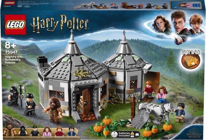 LEGO Harry Potter 75947 - Hagridova bouda: Záchrana Klofana