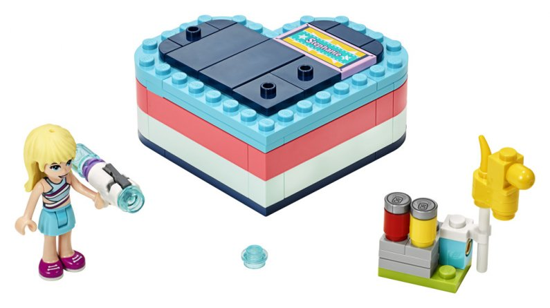 LEGO Friends 41386 - Stephanie a letní srdcová krabička