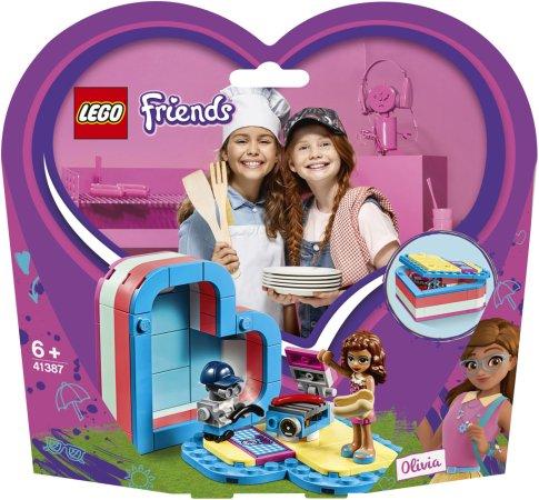 LEGO Friends 41387 - Olivia a letní srdcová krabička